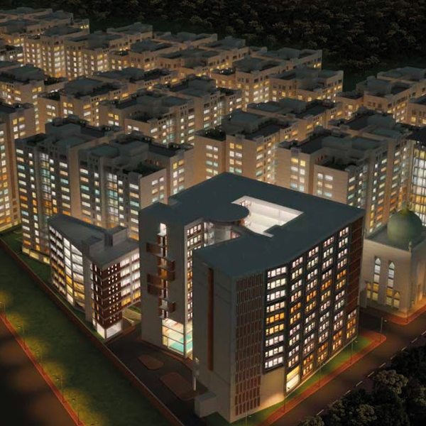 3 Bed Apartment for Sale in Nice Location | Exclusive 1553 sft Flat For Sale in Bijoy Rakeen City, Mirpur