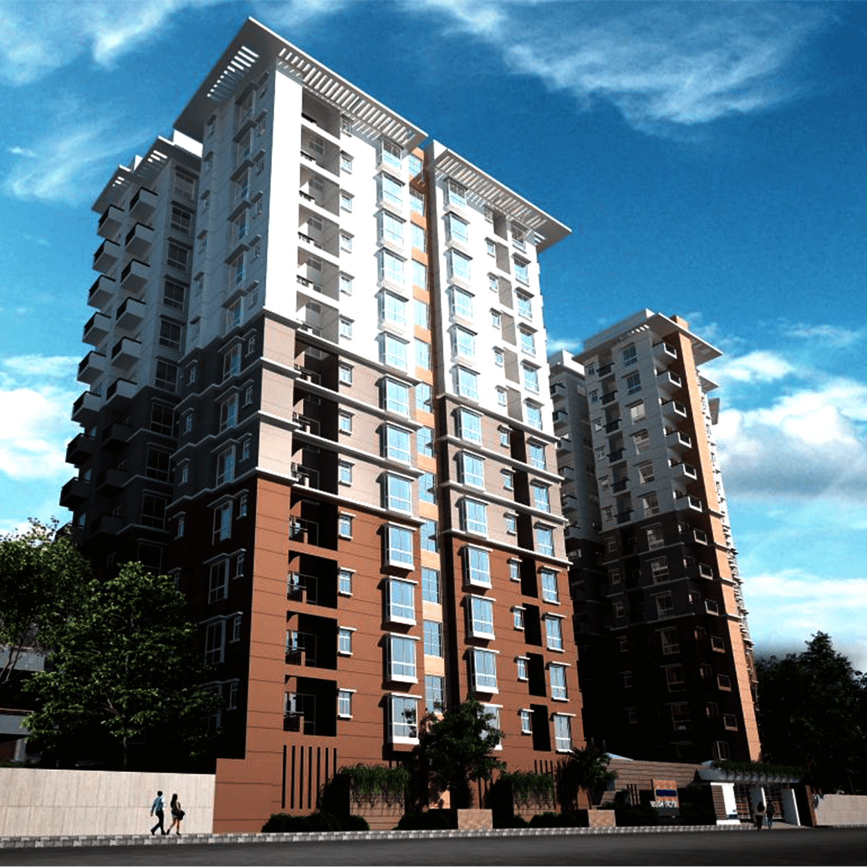 Exclusive 1412 sft 3 Bed Flat For Sale at Agargaon