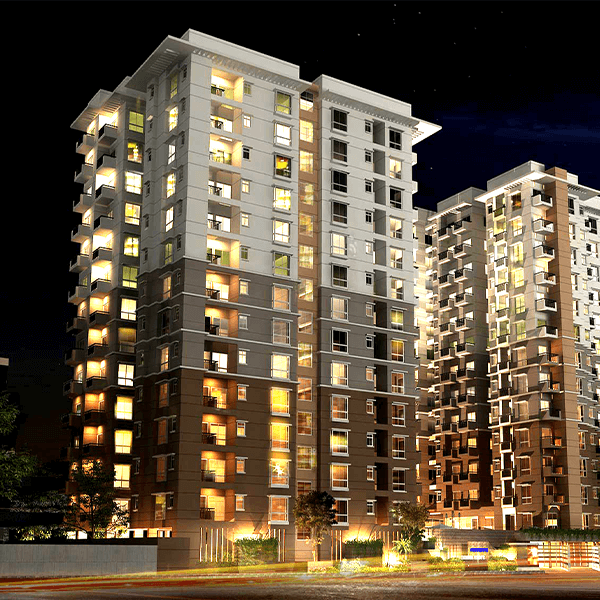 Exclusive 1391 Sft Flat For Sale in Link Road, Agargaon