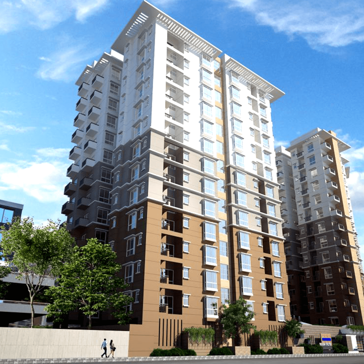 Exclusive 1357 sft 3 Bed Flat For Sale at Agargaon