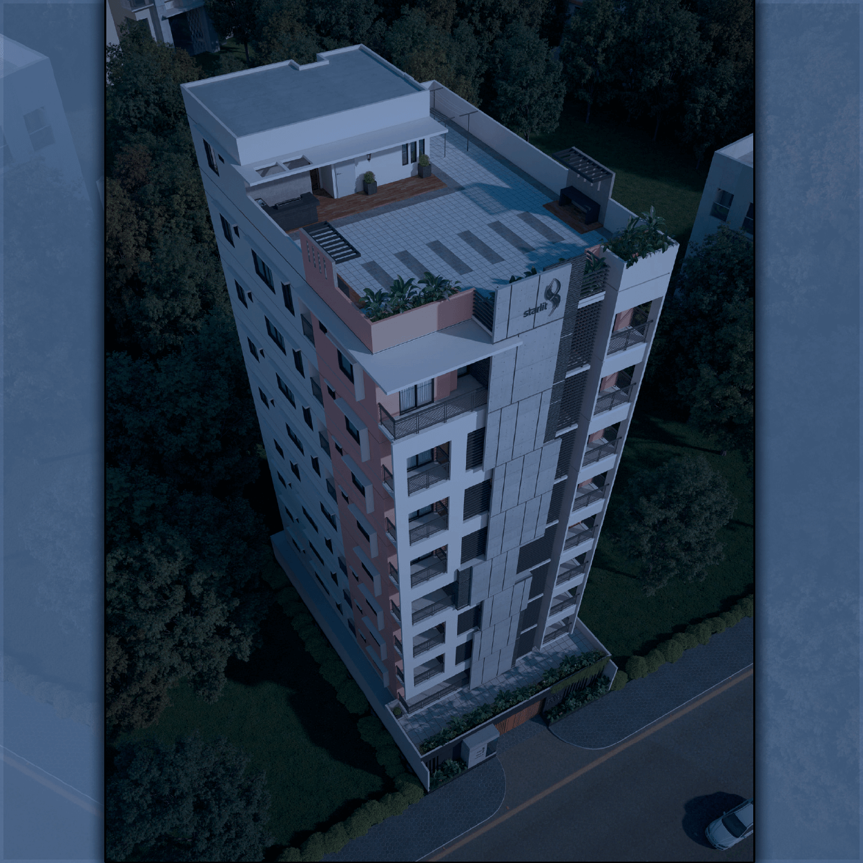 EXCLUSIVE 1320 SFT FLAT FOR SALE IN MIRPUR