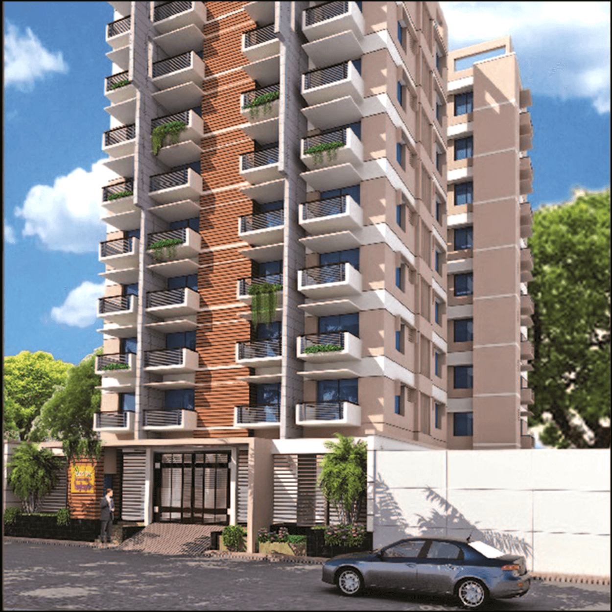 Exclusive 1300 sft 3 Bed Flat For Sale at Adabor, Monsurabad