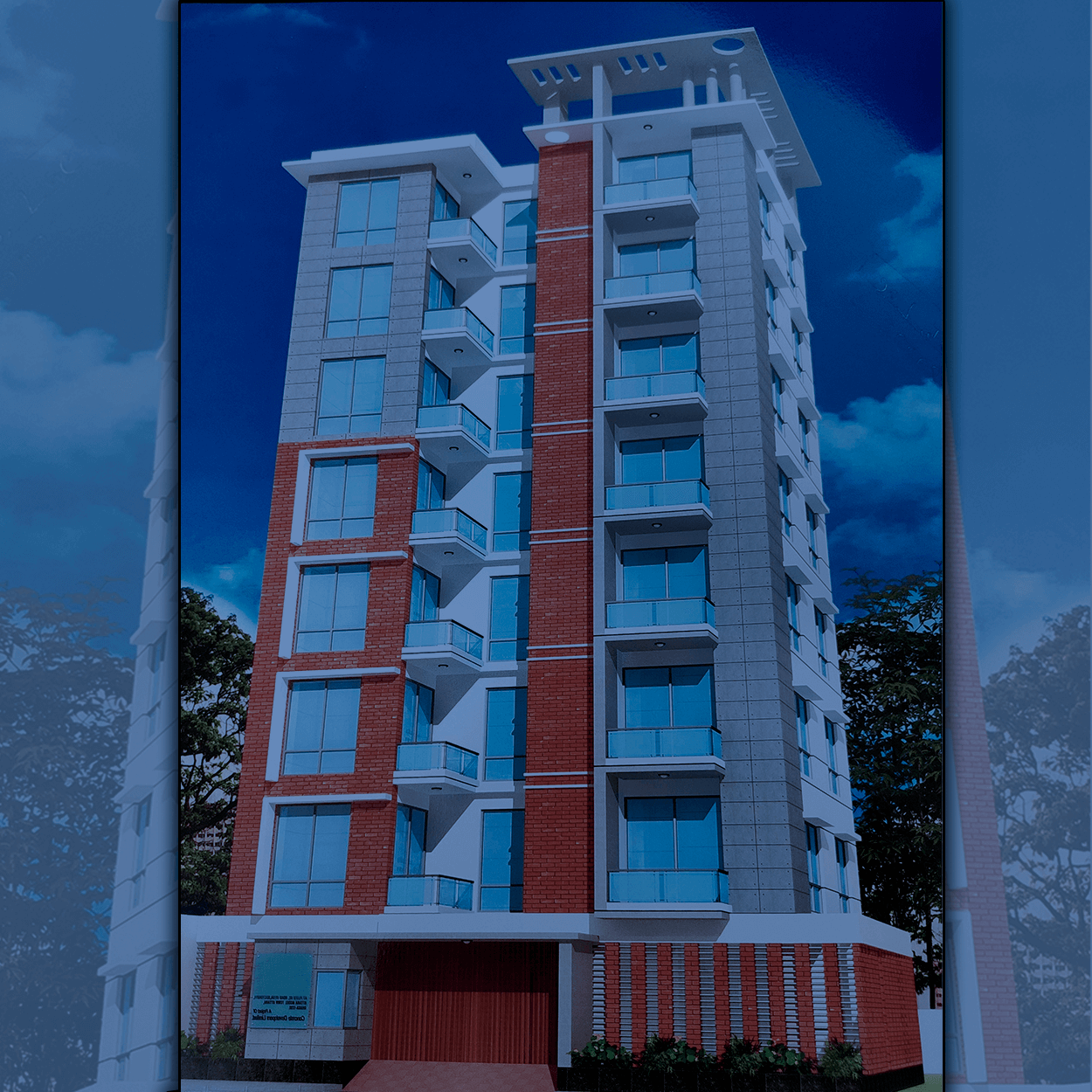 Exclusive 1650 sft Flat For Sale at Uttara