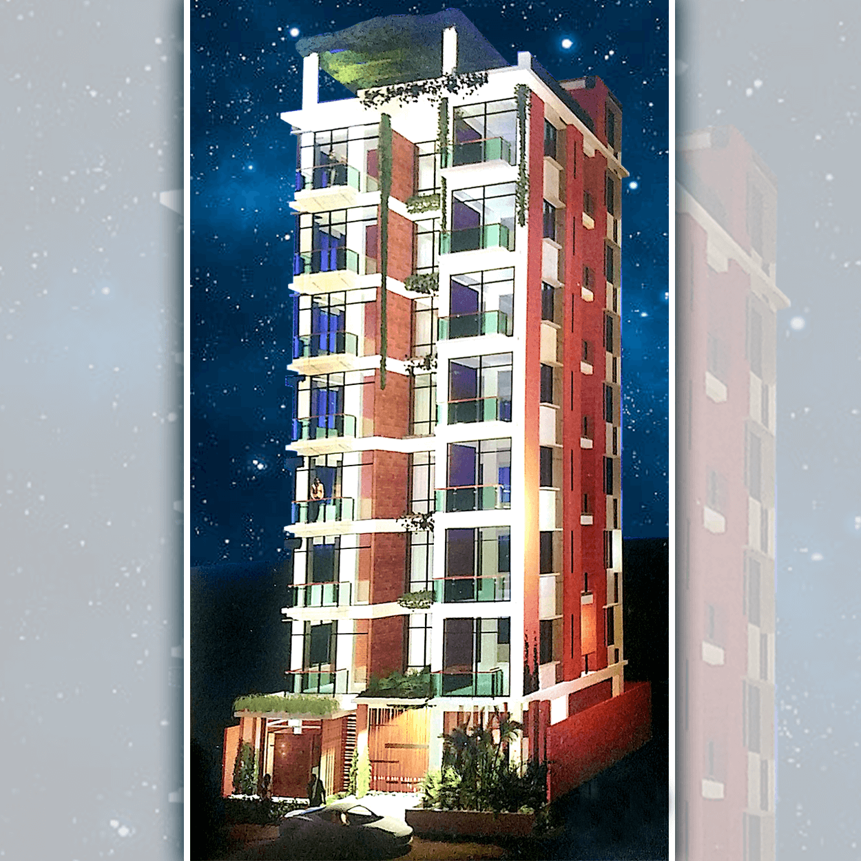 Exclusive 1550 sft Flat For Sale at Bashundhara