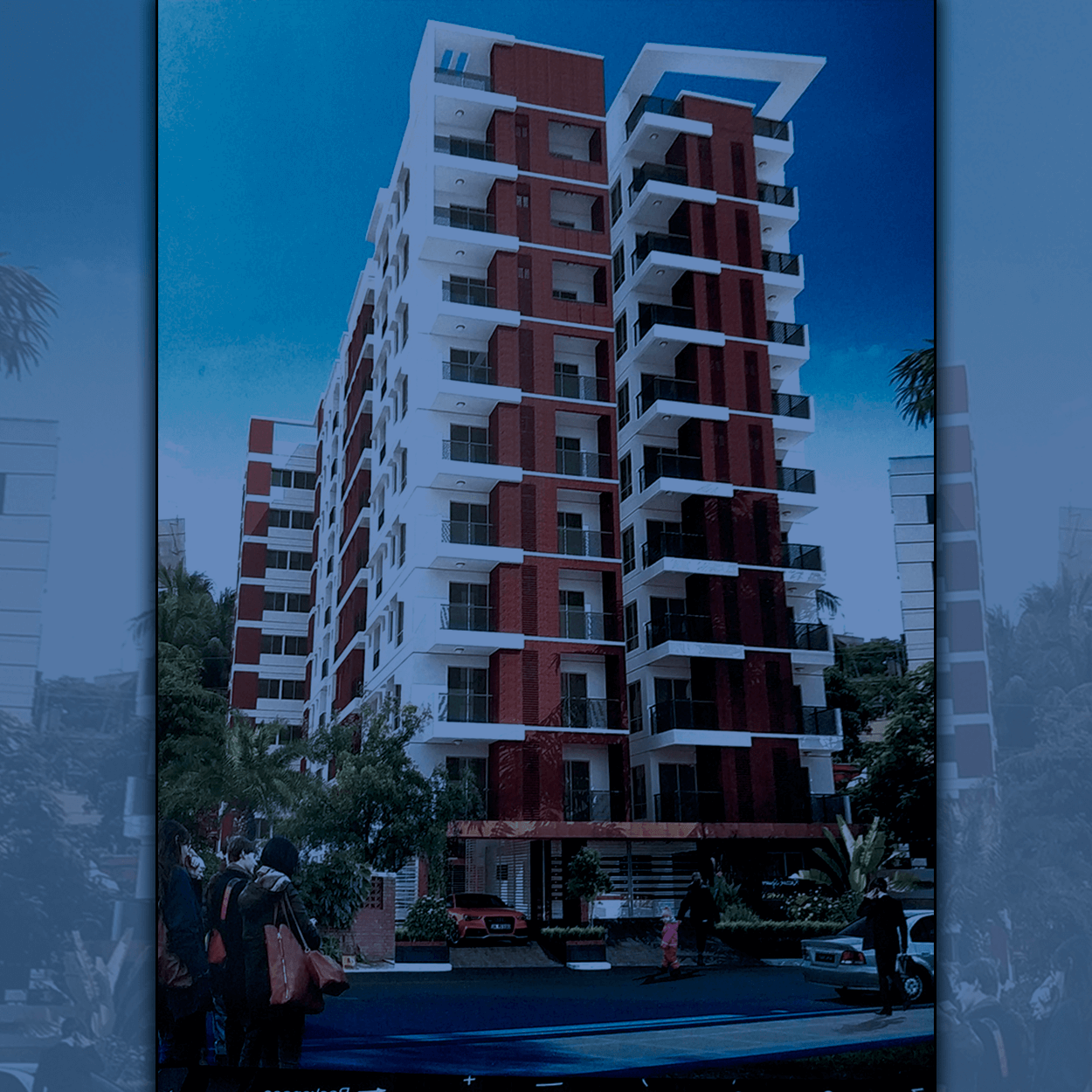 Exclusive 1110 Sft Flat For Sale in Shahjadpur, Badda